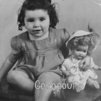 France Poulin 3 ans - vers 1947