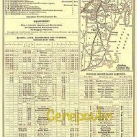 Horaire des trains Quebec Central
