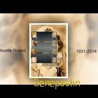 VIDEO - Olivette Rivard Hogue 1931-2014. Version muette.